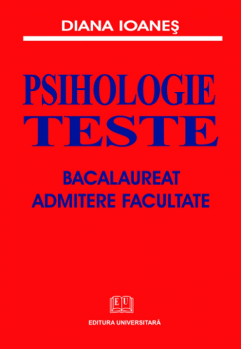 Psychology - Tests - Baccalaureate, college admission [0]