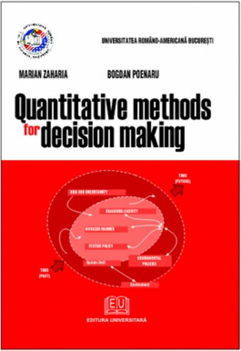 Quantitative methods for decision making [0]