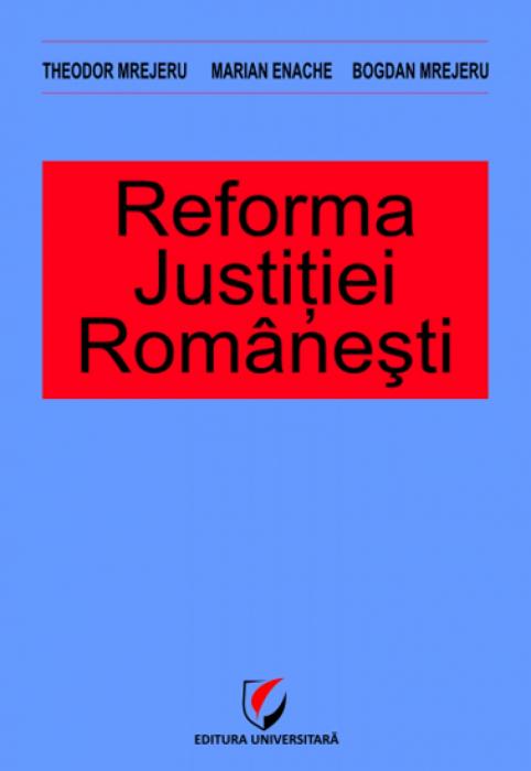 Romanian justice reform 0