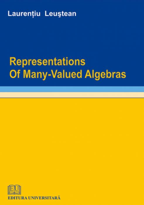 Representations of many-valued algebras 0
