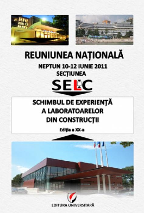 Reuniunea nationala - Schimbul de experienţă a laboratoarelor de construcţii, Editia a XX-a 0