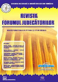 Revista Forumul Judecatorilor - Nr. 1/2009 0