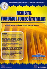 Revista Forumul Judecatorilor - Nr. 2/2009 0