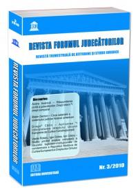 Revista Forumul Judecatorilor - Nr. 3/2010 0