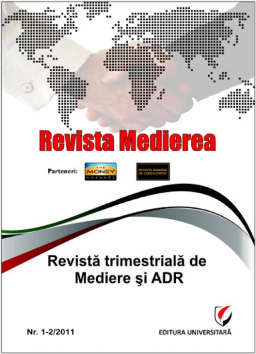 Revista Medierea - Nr. 1-2/2011 0