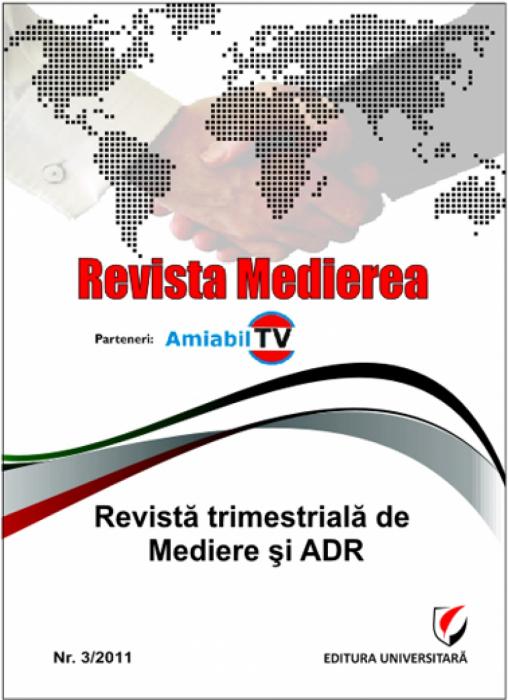 Revista Medierea - Nr. 3/2011 0