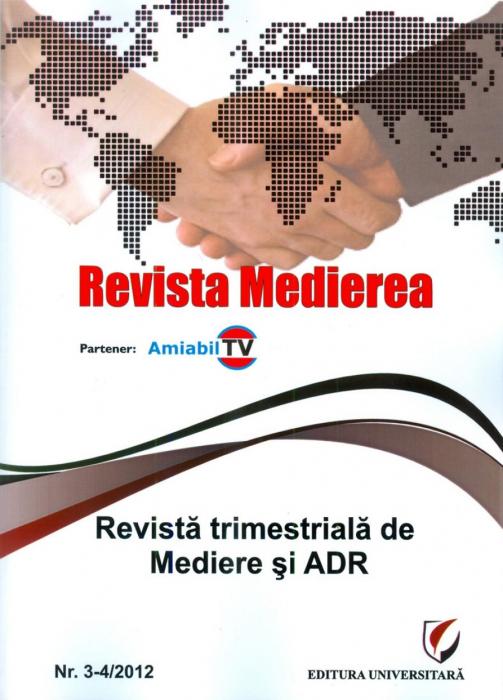 Revista Medierea - Nr. 3-4/2012 0
