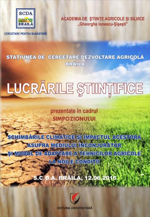 Schimbarile climatice si impactul acestora asupra mediului inconjurator  si modul de adaptare a tehnicilor agricole la noile conditii 0