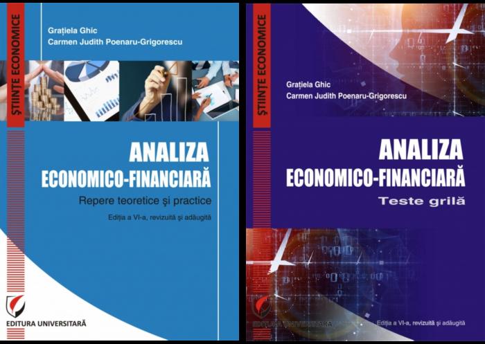 Set: Analiza economico-financiara. Repere teoretice si practice + Analiza economico-financiara. Teste grila, ed. VI 0