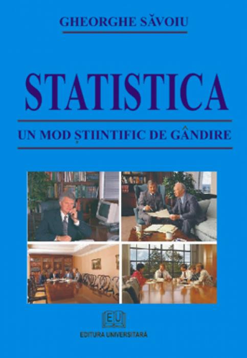 Statistica - Un mod ştiinţific de gândire 0