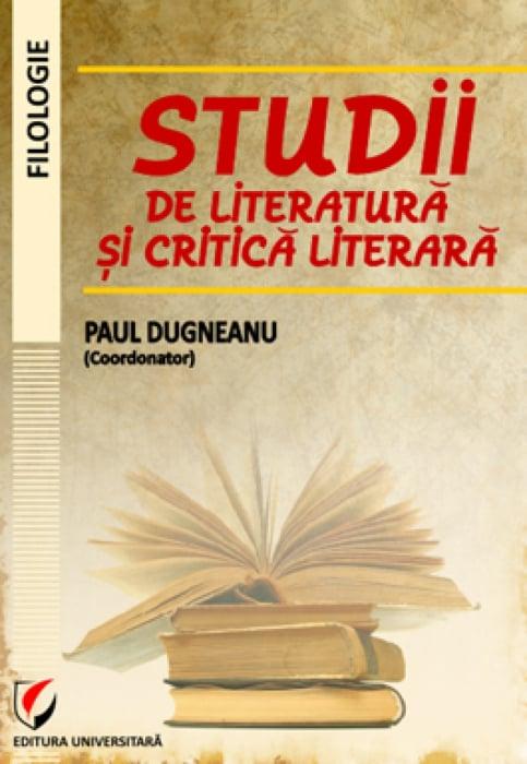 Studii de literatura si critica literara 0