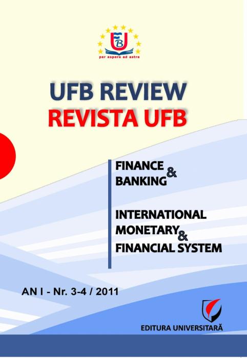UFB Review - Revista UFB / AN I Nr. 3-4/2011 0