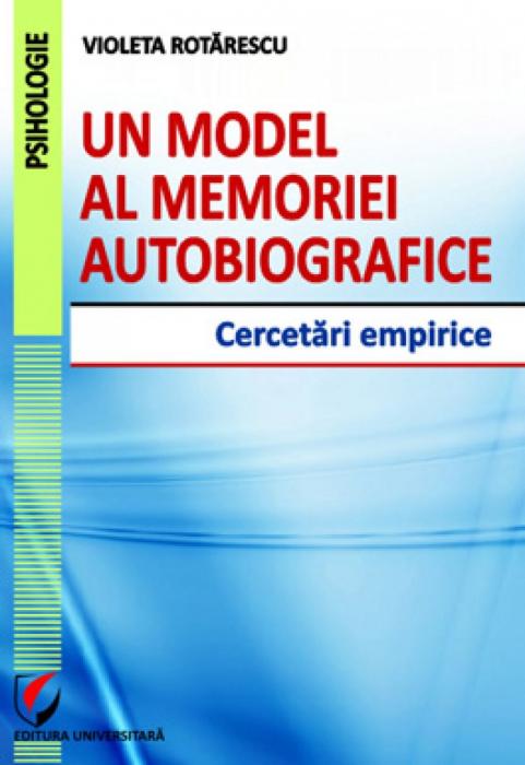 Un model al memoriei autobiografice. Cercetari empirice 0
