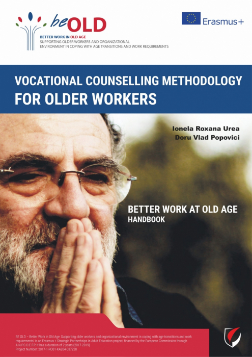 "Vocational counselling methodology for older workers ""Better Work At Old Age"". MANUAL 0"