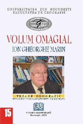 Volume anniversary - Ion Gheorghe Marin [0]
