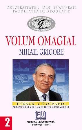 Volum omagial - Mihail Grigore 0