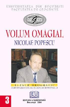 Volum omagial - Nicolae Popescu 0