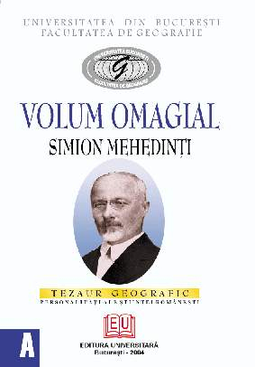 Volum omagial - Simion Mehedinţi 0