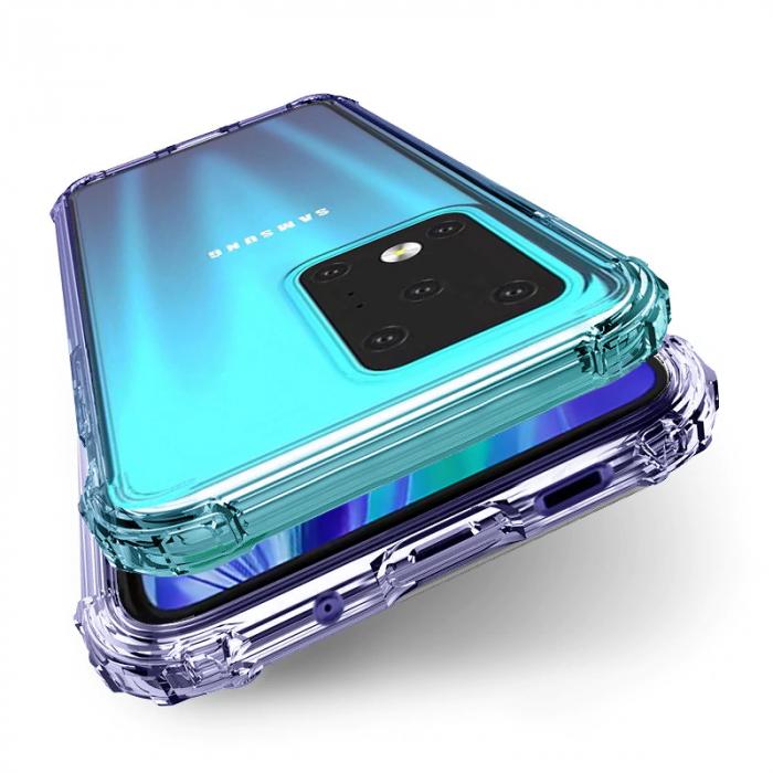 Husa silicon transparent anti shock Samsung S10 Lite [0]