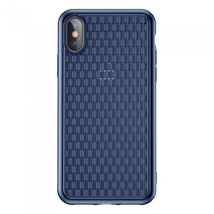 Husa silicon Baseus 2nd gen Iphone Xs Max - 2 culori 0
