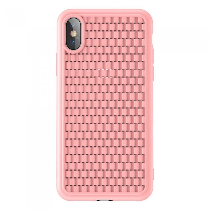 Husa silicon Baseus 2nd gen Iphone Xs Max - 2 culori 1