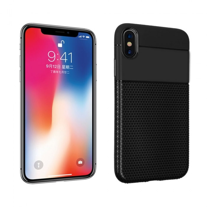 Husa silicon 2 in1 Iphone Xs Max - 3 culori 0