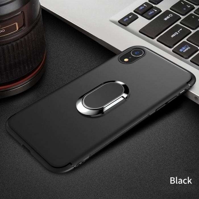 Husa armura magnetica mata Iphone Xs Max - negru 0
