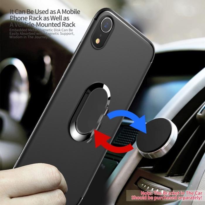Husa armura magnetica mata Iphone Xs Max - negru 1