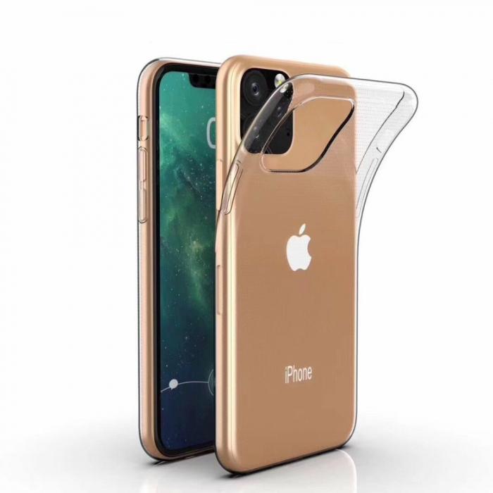 Husa silicon slim Iphone 11 pro, Transparent 0