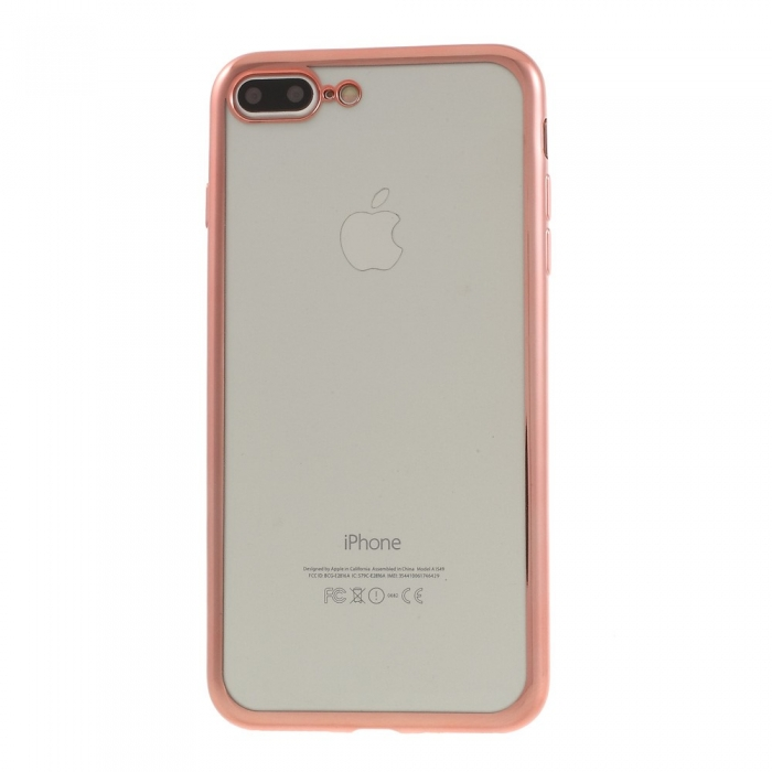 Husa silicon placat margine Iphone 7/8/SE2 0