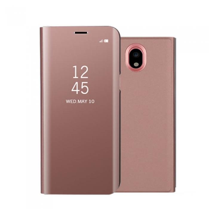 Husa clear view Samsung J3 (2017) - 6 culori 2