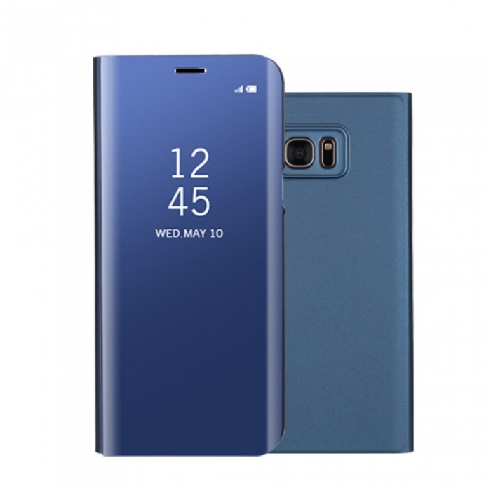 Husa clear view Samsung S8, Albastru [0]