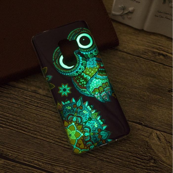 Husa silicon design lucios fosforescent Samsung S9+ - 5 modele 5