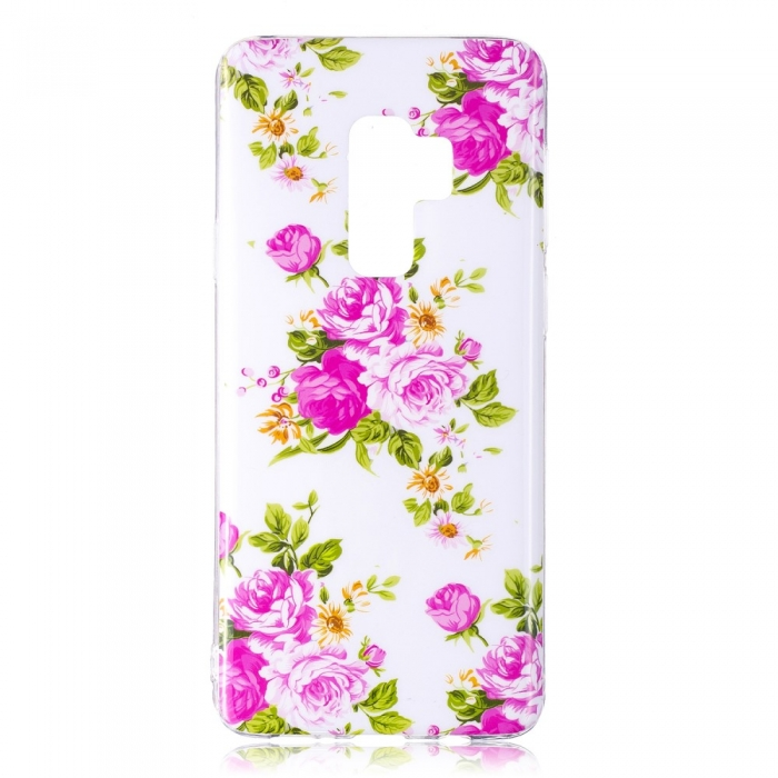 Husa silicon design lucios fosforescent Samsung S9+ - 5 modele 3