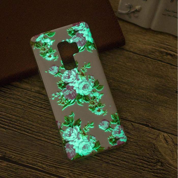 Husa silicon design lucios fosforescent Samsung S9+ - 5 modele 7