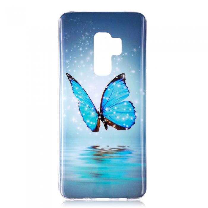 Husa silicon design lucios fosforescent Samsung S9+ - 5 modele 4