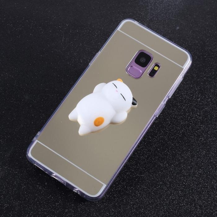 Husa silicon squishy oglinda Samsung S9 0