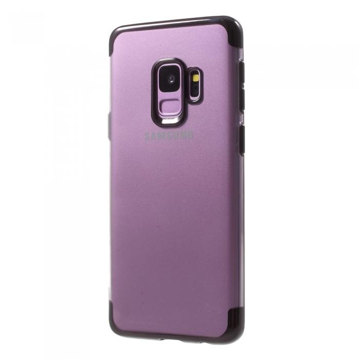 Husa silicon placat sus-jos Samsung S9 - 4 culori 0