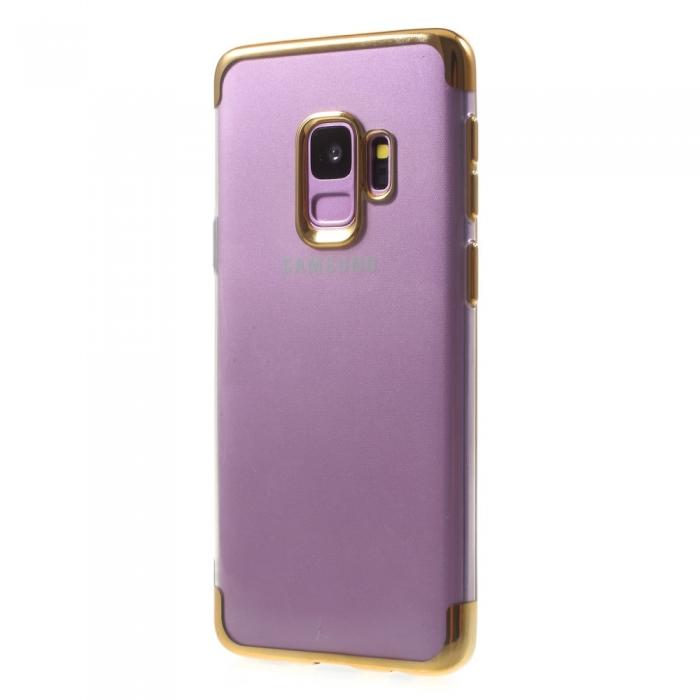 Husa silicon placat sus-jos Samsung S9 - 4 culori 2