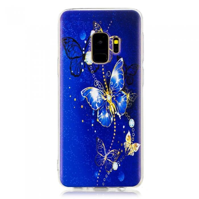 Husa silicon design printat Samsung S9 - 5 modele 3