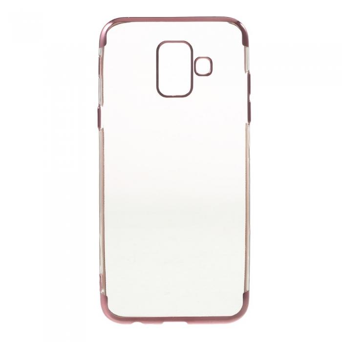 Husa silicon placat sus-jos Samsung A6 (2018) 1