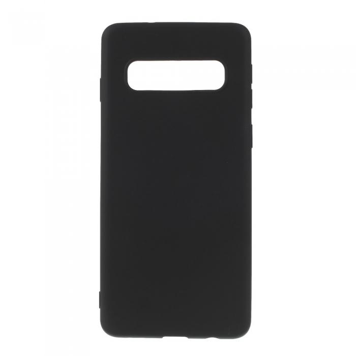 Husa silicon slim mat Samsung S10 plus negru 0