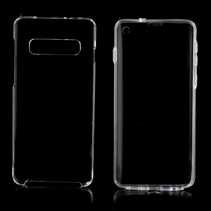 Husa silicon 360 fata+spate Samsung S10 1