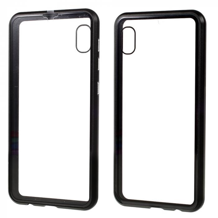 Bumper magnetic sticla fata-spate Samsung A50 - 3 culori [0]