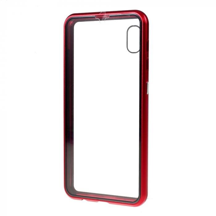Bumper magnetic sticla fata-spate Samsung A51 - 3 culori [2]