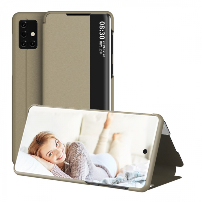 Husa smart clear view Samsung A41 - 5 culori 1
