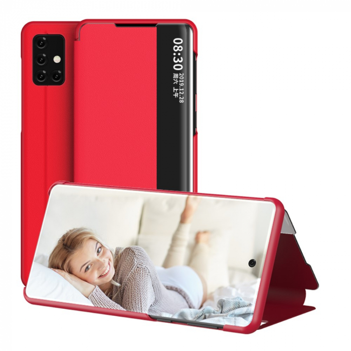 Husa smart clear view Samsung S10 lite 2020 - 5 culori [3]