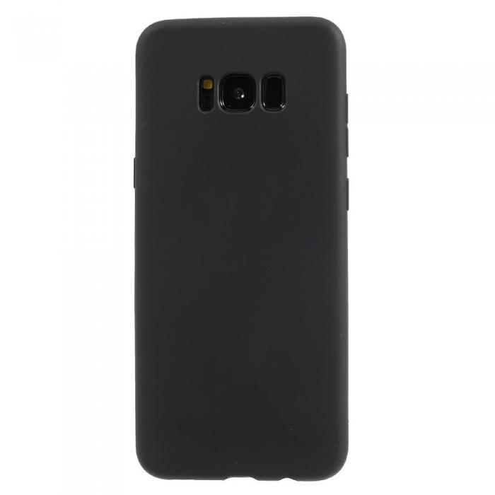 Husa silicon slim mat Samsung S8 negru 0