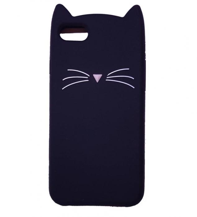 Husa silicon pisica Iphone 6/6s 0