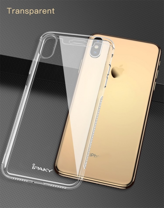 Husa Ipaky 360 Iphone Xs Max - transparent 3